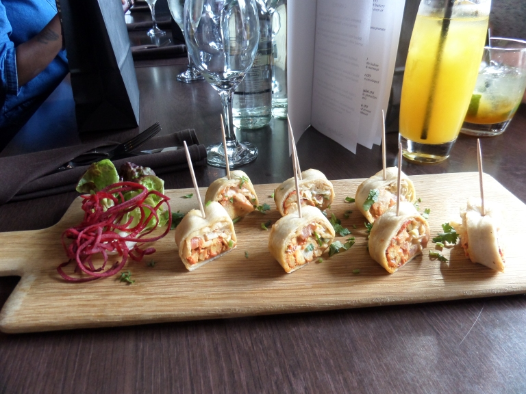 Chicken Tikka Wrap Itihaas New Menu