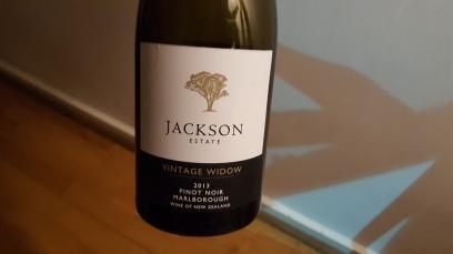 Jackson Estates Vintage Widow Pinot Noir 2013