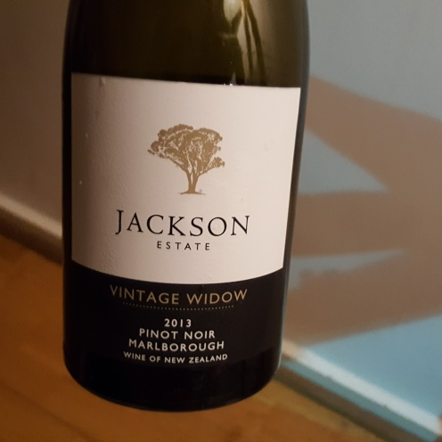 Jackson Estates Vintage Widow Pinot Noir 2013