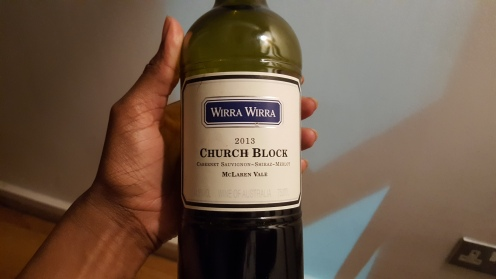 Wirra Wirra Church Block 2013