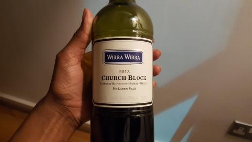 Wirra Wirra Church Block 2013